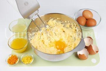 Цитрусовая бабка — апельсиново-лимонный кекс - шаг 2