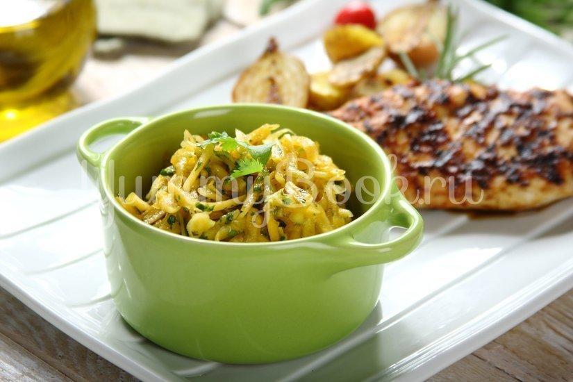 Свежий салат из тыквы - шаг 4