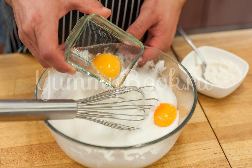 Омлет с овощами и соусом - шаг 1