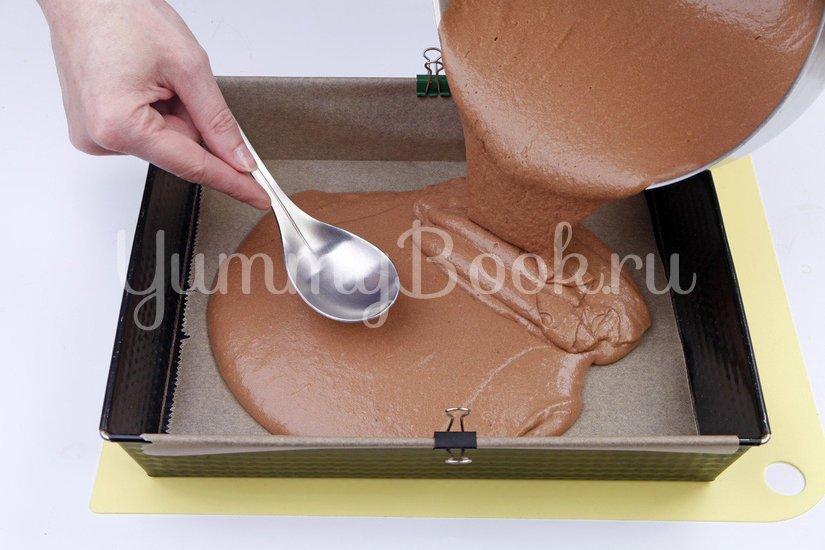 Шоколадно-банановый торт - шаг 3