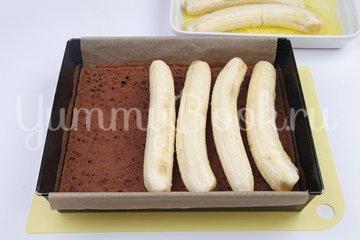 Шоколадно-банановый торт - шаг 6