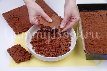 Шоколадно-банановый торт - шаг 4