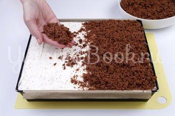Шоколадно-банановый торт - шаг 9