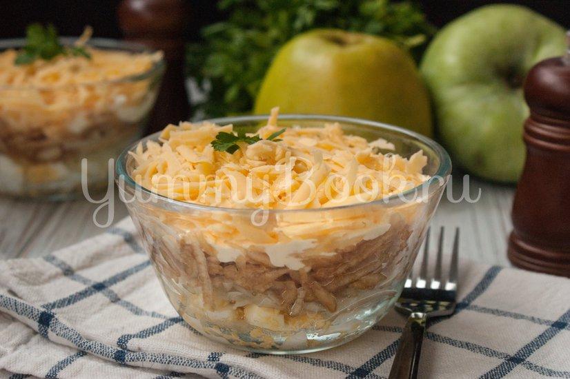 Салат французский с яблоком - шаг 6
