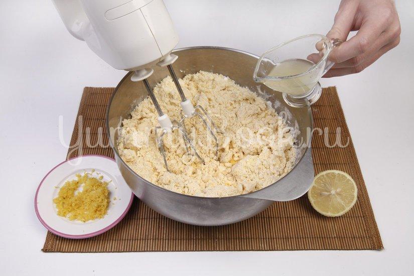 Лимонное печенье - шаг 2