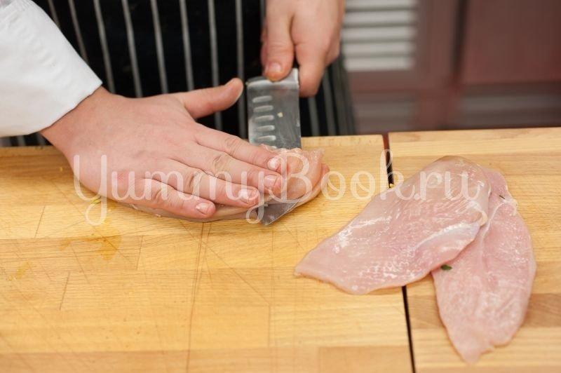 Курица, запеченная со шпинатом - шаг 1