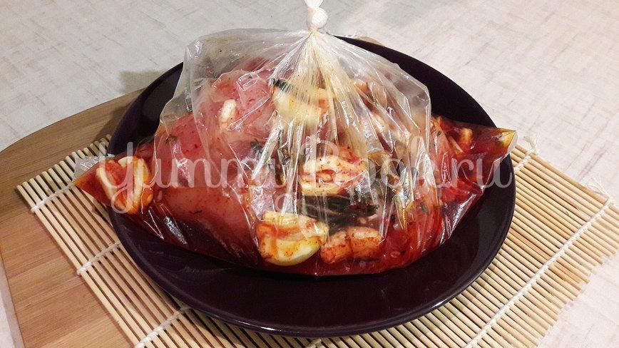 Куриное филе, замаринованное в оливковом масле с розмарином и тимьяном - шаг 6