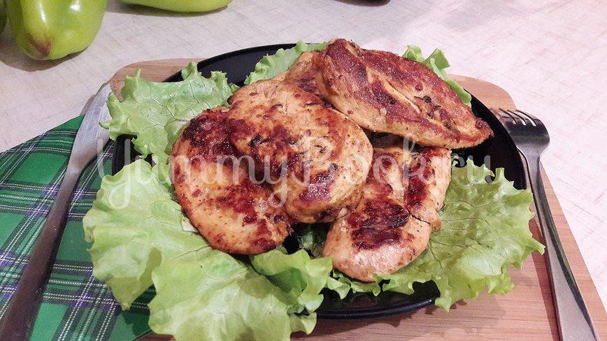 Куриное филе, замаринованное в оливковом масле с розмарином и тимьяном - шаг 9
