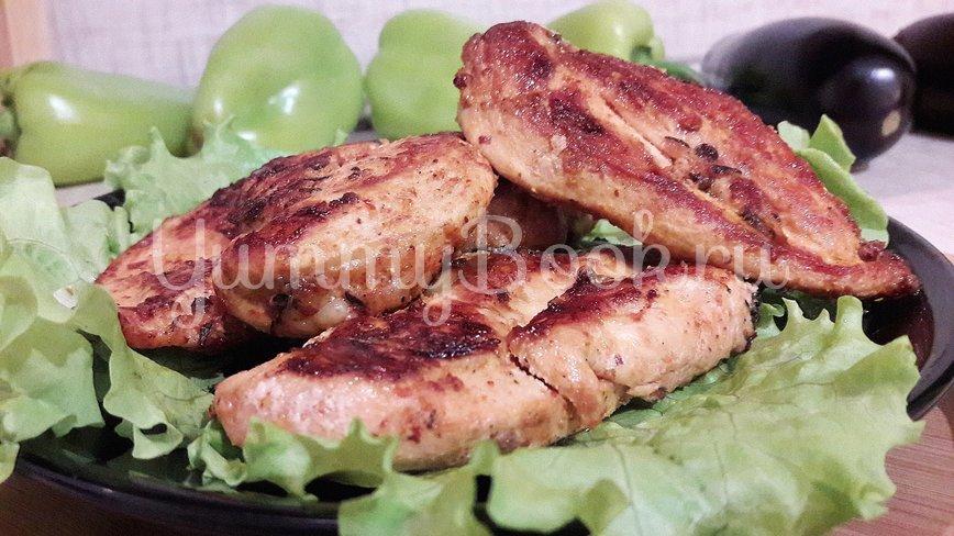 Куриное филе, замаринованное в оливковом масле с розмарином и тимьяном - шаг 11