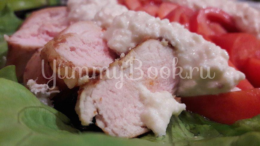 Куриное филе, замаринованное в оливковом масле с розмарином и тимьяном - шаг 10
