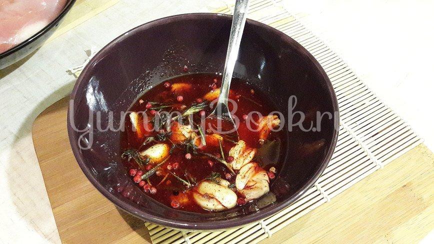 Куриное филе, замаринованное в оливковом масле с розмарином и тимьяном - шаг 4