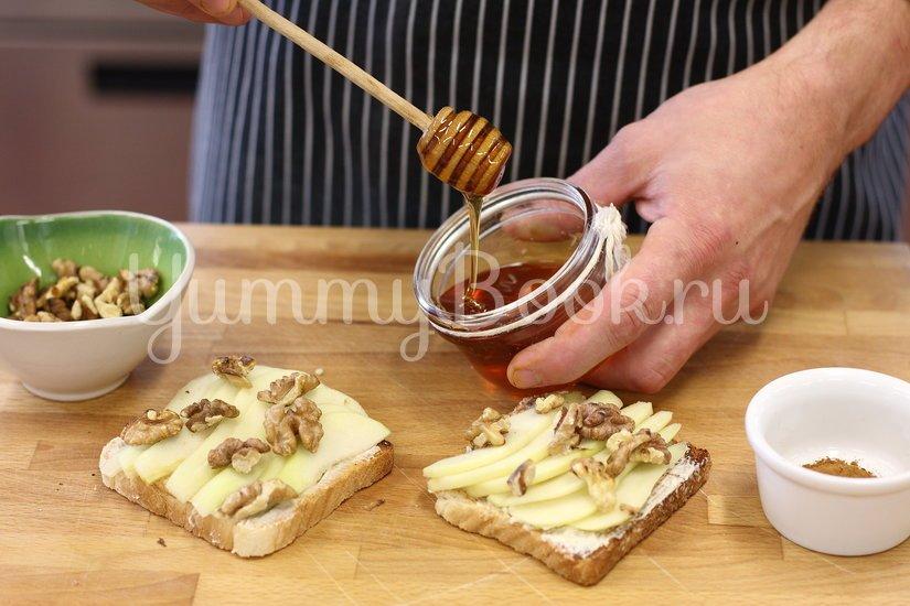 Тосты с грушей и медом - шаг 3