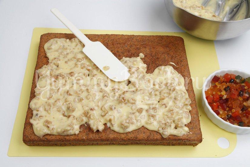 Маковый пирог с молочной глазурью - шаг 6