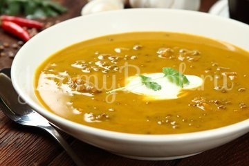 Чечевичный суп-пюре - шаг 6
