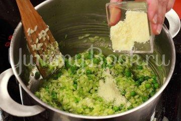 Ризотто с зеленым горошком и сыром - шаг 5