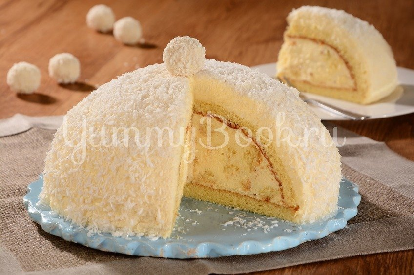 "Торт ""Рафаэлло"" с ликером"