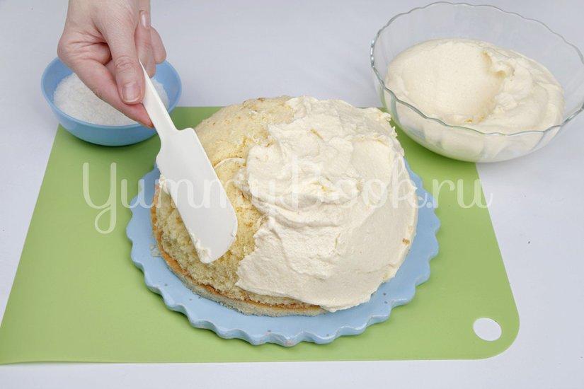 """Торт """"Рафаэлло"""" с ликером - шаг 7"""