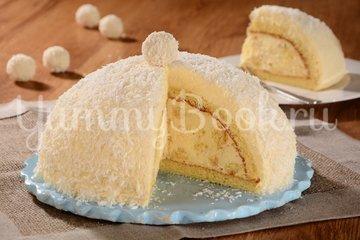 """Торт """"Рафаэлло"""" с ликером - шаг 8"""