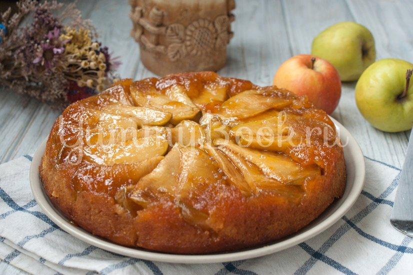 Яблочный пирог-перевертыш - шаг 9