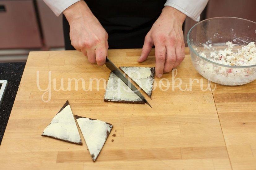 Бутерброды с авокадо и лососем - шаг 2
