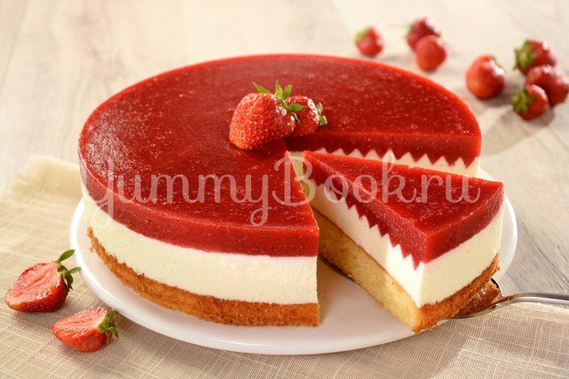 Клубничный торт с Маскарпоне - шаг 7