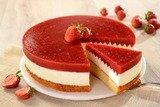 Клубничный торт с Маскарпоне