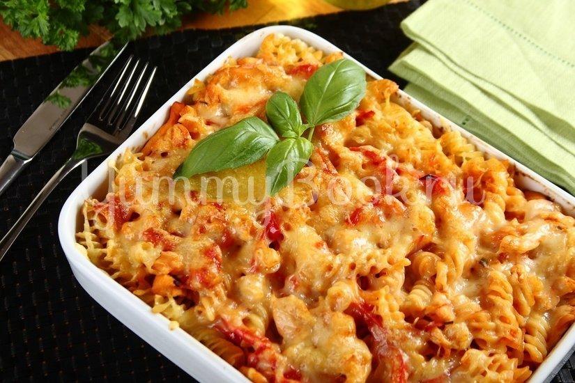 Запеканка из макарон с курицей и сыром - шаг 5