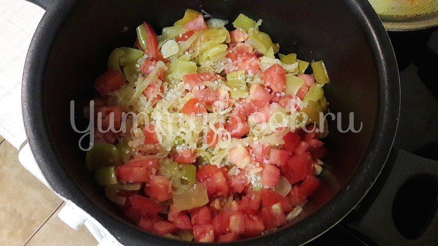 Густая сметанно-овощная подлива - шаг 5
