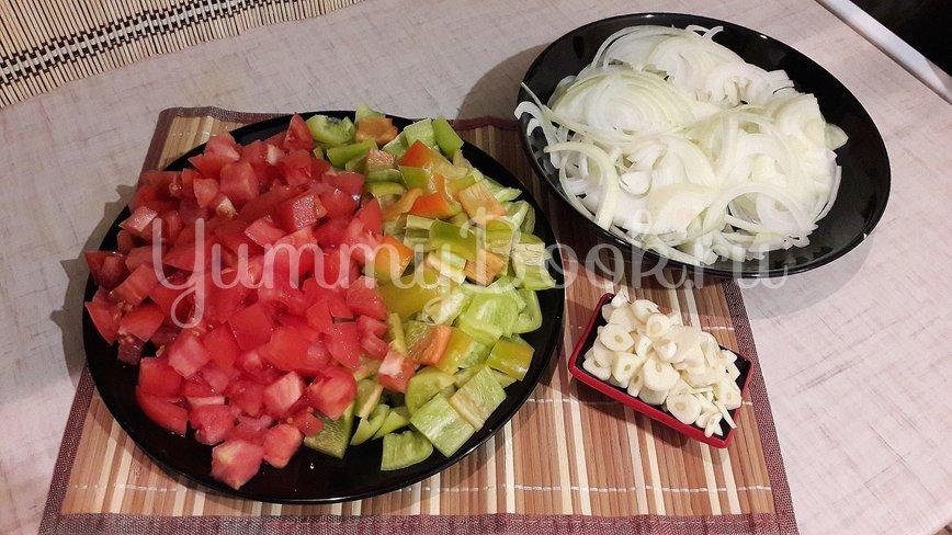 Густая сметанно-овощная подлива - шаг 2