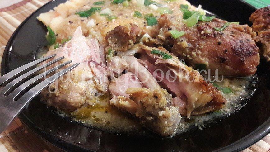 Куриные филе и бёдра в маринаде из киви и чеснока - шаг 16