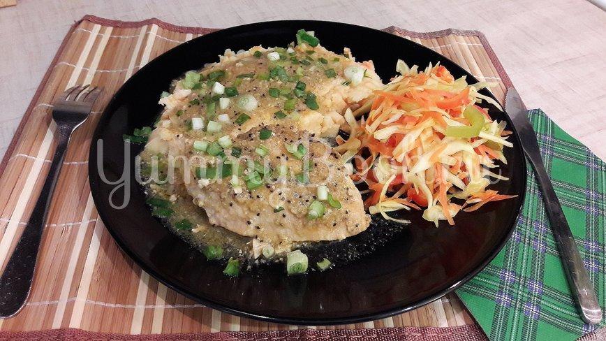 Куриные филе и бёдра в маринаде из киви и чеснока - шаг 14