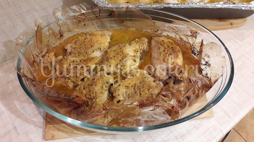 Куриные филе и бёдра в маринаде из киви и чеснока - шаг 8