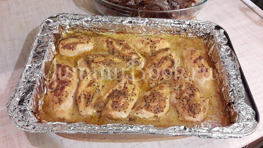 Куриные филе и бёдра в маринаде из киви и чеснока - шаг 11