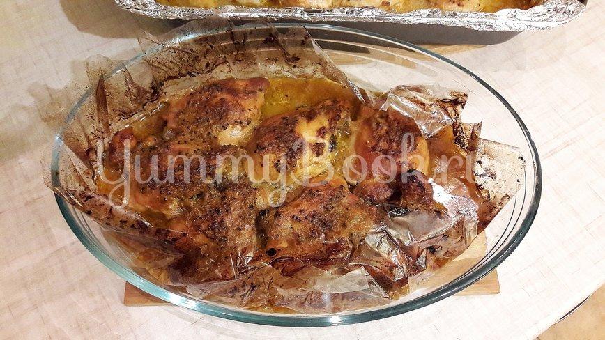 Куриные филе и бёдра в маринаде из киви и чеснока - шаг 12