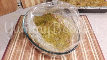 Куриные филе и бёдра в маринаде из киви и чеснока - шаг 6