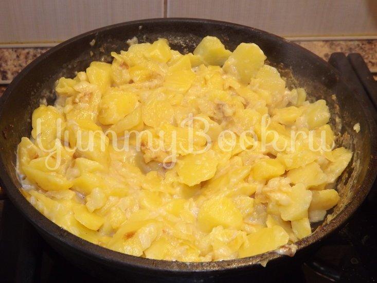 Вареный картофель, тушеный в молоке - шаг 6
