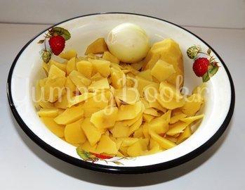 Вареный картофель, тушеный в молоке - шаг 2