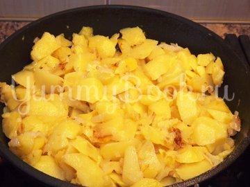 Вареный картофель, тушеный в молоке - шаг 4