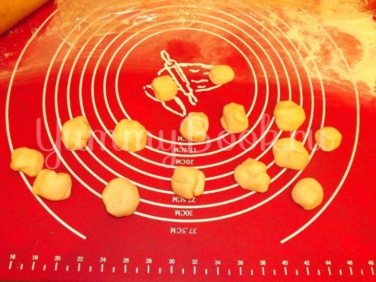 Пельмени-вареники со свежей капустой - шаг 6