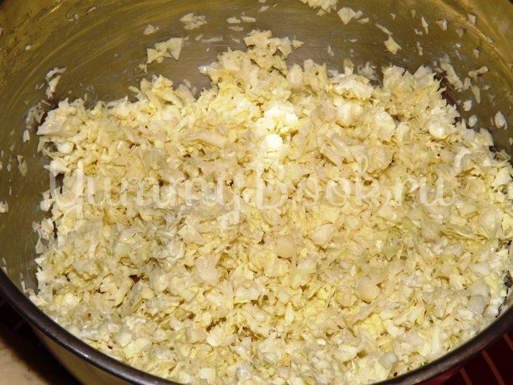 Пельмени-вареники со свежей капустой - шаг 2