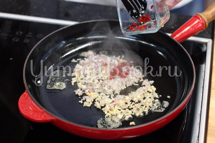 Блины со шпинатом и козьим сыром - шаг 2