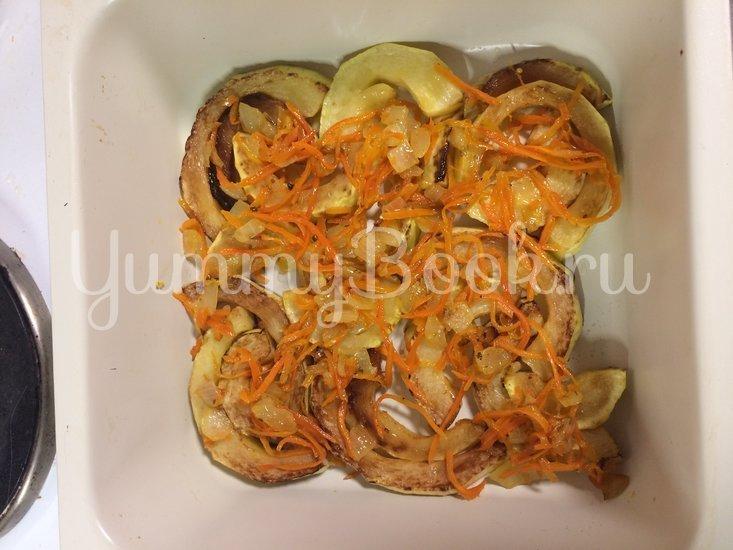 Запеченые кабачки с помидором и чесноком - шаг 5