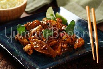 Куриное филе в манговом соусе - шаг 6