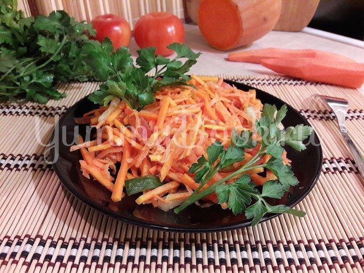 Лёгкий и полезный салат с тыквой - шаг 4
