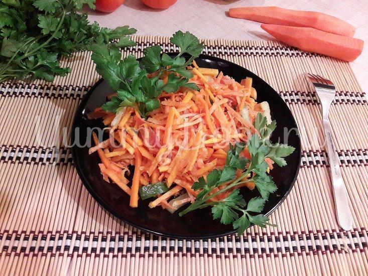 Лёгкий и полезный салат с тыквой - шаг 3