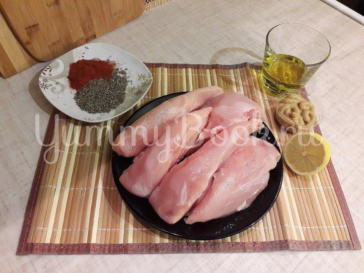 Куриное филе в лимонно-горчичном маринаде - шаг 1