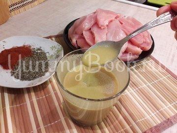 Куриное филе в лимонно-горчичном маринаде - шаг 3