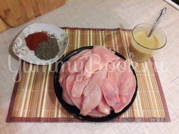 Куриное филе в лимонно-горчичном маринаде - шаг 2