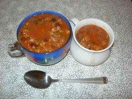 Суп-чили густой