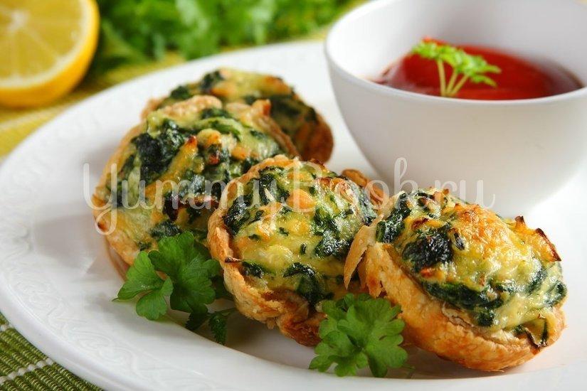Тарталетки с лососем и шпинатом - шаг 5